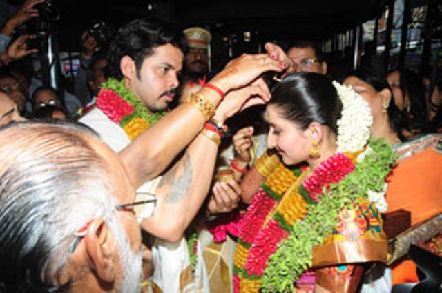 sreesanth wedding