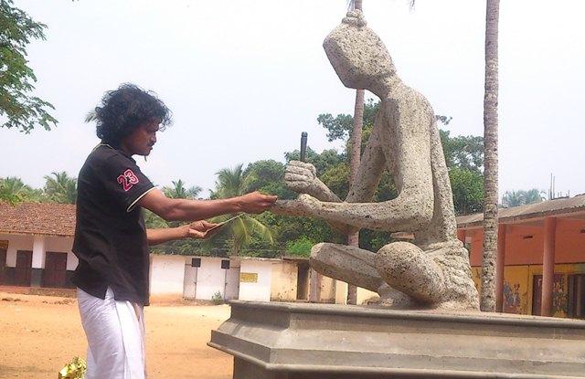 ezuthachan silpam rajan ariyalloor