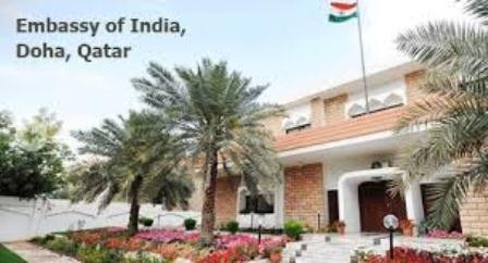 indian embassy Quatar