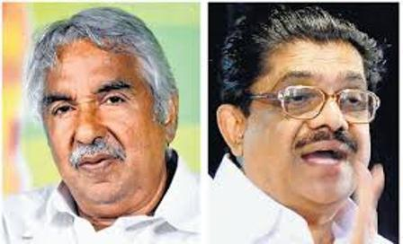 oomman chandy and sudheeran