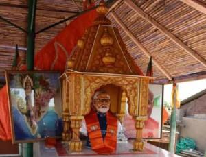 പ്രധാനമന്ത്രി നരേന്ദ്ര മോദിക്ക് ഗുജറാത്തില് ക്ഷേത്രം പണിതു
