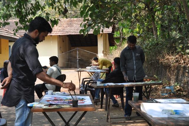 painting camp pandikkad (1)