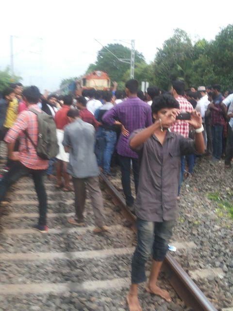 train parappanangadi