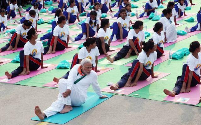yogaday celebration