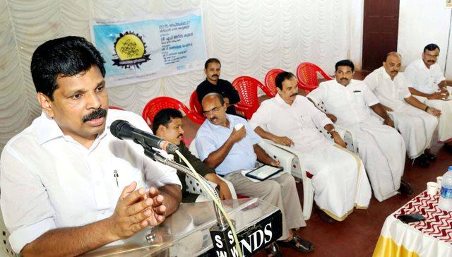 Loka Vinoda Sanchara Dinaghosam Samsthana Thala Udgadanam Minister AP Anilkumar udgadanam cheyunnu
