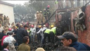 ദില്ലിയില് ബിഎസ്എഫ് വിമാനം തകര്ന്ന് 10 പേര് മരിച്ചു