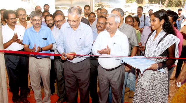 Science Exhibition of Kerala Science Congress inaugurating  by KSCSTE Exe.Vice President Dr.Suresh Das