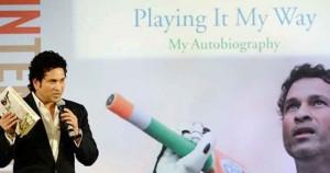 സച്ചിന്റെ ആത്മകഥ 'പ്ലെയിംഗ് ഇറ്റ് മൈ വേ' ലിംക ബുക്ക് ഓഫ് റെക്കോര്ഡില്