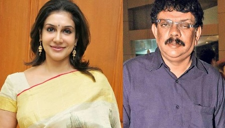 Actress Lissy and Director Priyadarshan