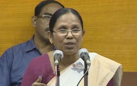 Kerala-Health-Minister