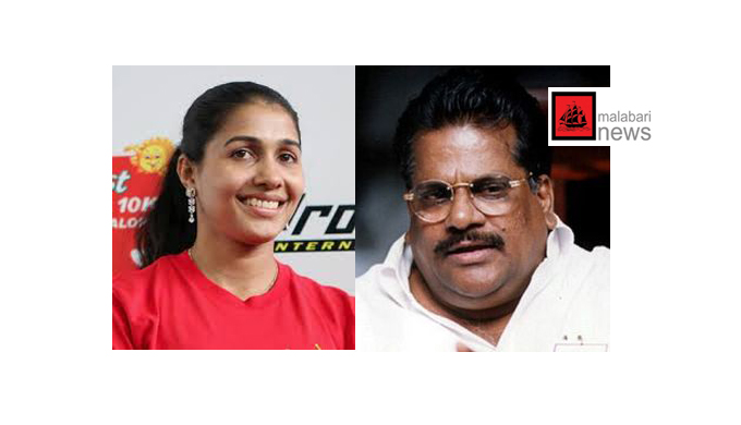anju and ep jayarajan