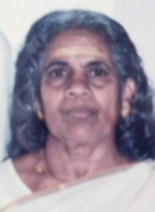 പേടെങ്ങലെ ചേലക്കോട്ടു വട്ടെങ്ങല് ലക്ഷ്മികുട്ടിഅമ്മ എന്ന തങ്കമ്മ (85) നിര്യാതയായി